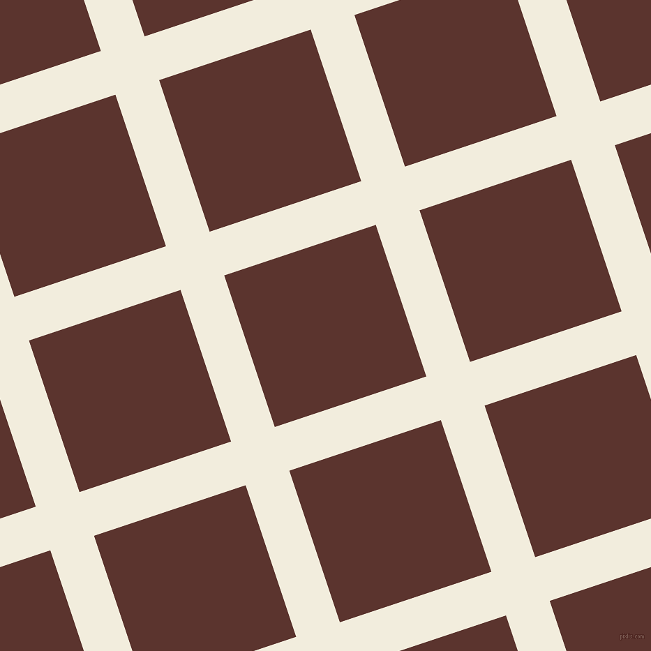 18/108 degree angle diagonal checkered chequered lines, 66 pixel line width, 229 pixel square size, Quarter Pearl Lusta and Redwood plaid checkered seamless tileable