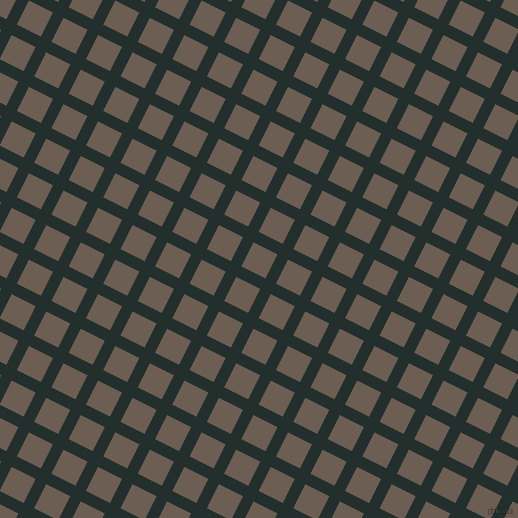 63/153 degree angle diagonal checkered chequered lines, 17 pixel lines width, 39 pixel square size, Racing Green and Kabul plaid checkered seamless tileable