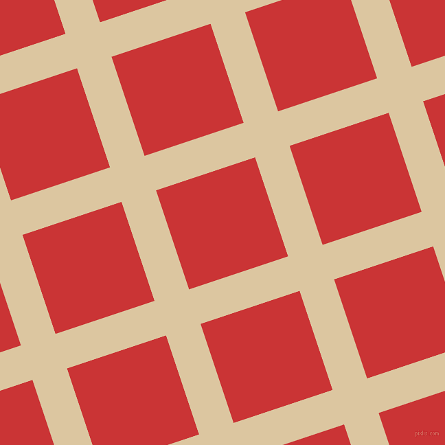 18/108 degree angle diagonal checkered chequered lines, 53 pixel lines width, 152 pixel square size, Raffia and Mahogany plaid checkered seamless tileable