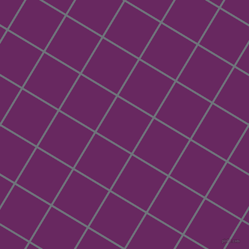 59/149 degree angle diagonal checkered chequered lines, 4 pixel lines width, 81 pixel square size, Raven and Palatinate Purple plaid checkered seamless tileable