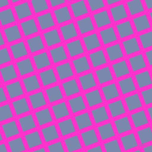21/111 degree angle diagonal checkered chequered lines, 15 pixel line width, 45 pixel square size, Razzle Dazzle Rose and Ship Cove plaid checkered seamless tileable
