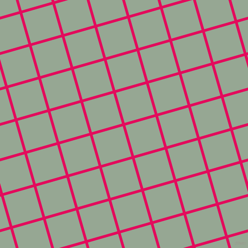 16/106 degree angle diagonal checkered chequered lines, 9 pixel line width, 103 pixel square size, Razzmatazz and Mantle plaid checkered seamless tileable