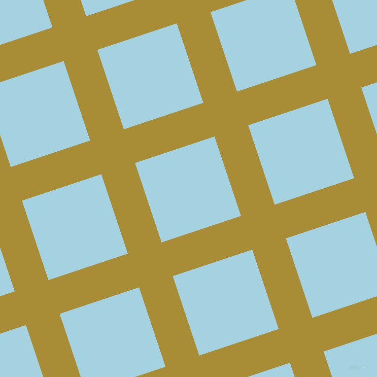 18/108 degree angle diagonal checkered chequered lines, 70 pixel lines width, 165 pixel square size, Reef Gold and French Pass plaid checkered seamless tileable