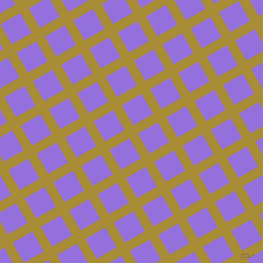 30/120 degree angle diagonal checkered chequered lines, 19 pixel lines width, 45 pixel square size, Reef Gold and Medium Purple plaid checkered seamless tileable