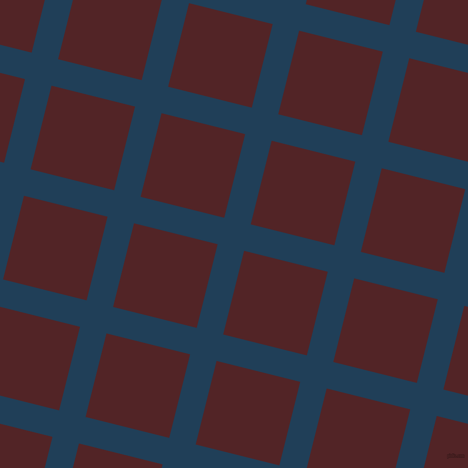 76/166 degree angle diagonal checkered chequered lines, 56 pixel line width, 177 pixel square size, Regal Blue and Lonestar plaid checkered seamless tileable