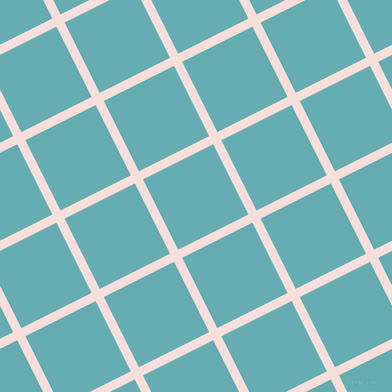 27/117 degree angle diagonal checkered chequered lines, 13 pixel line width, 112 pixel square size, Remy and Fountain Blue plaid checkered seamless tileable