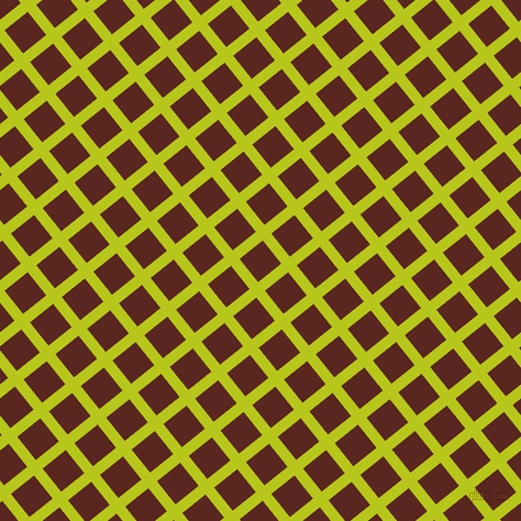 39/129 degree angle diagonal checkered chequered lines, 10 pixel lines width, 27 pixel square size, Rio Grande and Caput Mortuum plaid checkered seamless tileable