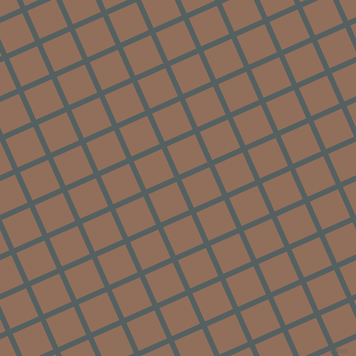 24/114 degree angle diagonal checkered chequered lines, 11 pixel line width, 63 pixel square size, River Bed and Beaver plaid checkered seamless tileable
