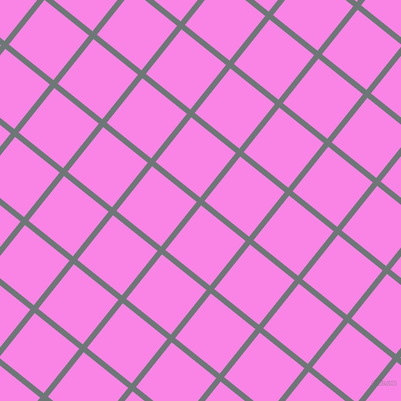 51/141 degree angle diagonal checkered chequered lines, 8 pixel line width, 82 pixel square size, Rolling Stone and Pale Magenta plaid checkered seamless tileable