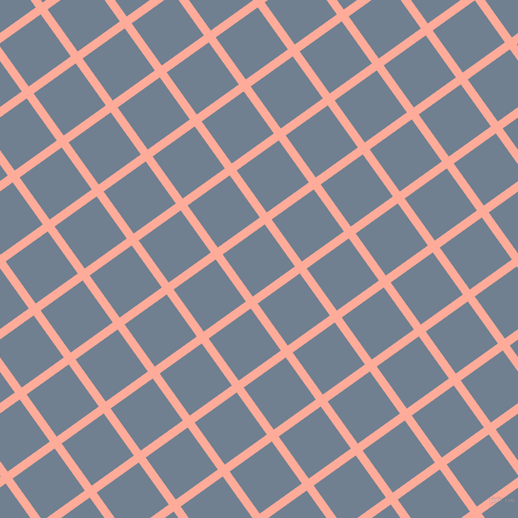 36/126 degree angle diagonal checkered chequered lines, 12 pixel lines width, 73 pixel square size, Rose Bud and Slate Grey plaid checkered seamless tileable