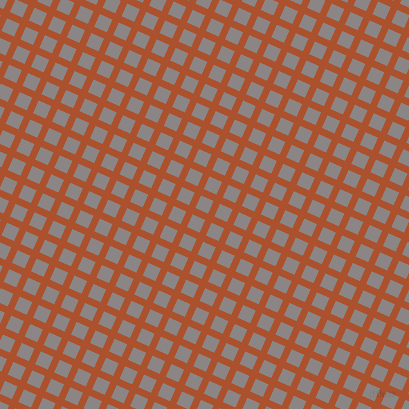 66/156 degree angle diagonal checkered chequered lines, 10 pixel lines width, 20 pixel square size, Rose Of Sharon and Suva Grey plaid checkered seamless tileable