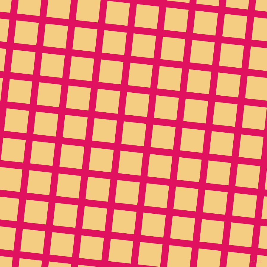 84/174 degree angle diagonal checkered chequered lines, 23 pixel lines width, 76 pixel square size, Ruby and Cherokee plaid checkered seamless tileable
