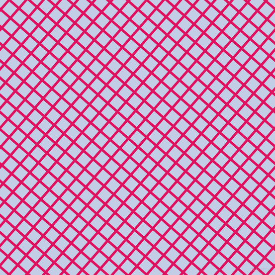 49/139 degree angle diagonal checkered chequered lines, 5 pixel line width, 21 pixel square size, Ruby and Periwinkle plaid checkered seamless tileable