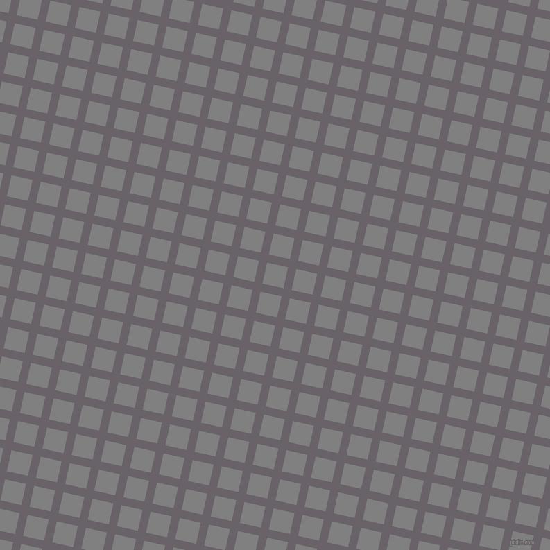 77/167 degree angle diagonal checkered chequered lines, 12 pixel lines width, 31 pixel square size, Salt Box and Grey plaid checkered seamless tileable