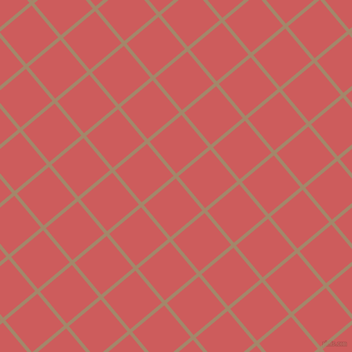 40/130 degree angle diagonal checkered chequered lines, 5 pixel lines width, 60 pixel square size, Sandal and Indian Red plaid checkered seamless tileable