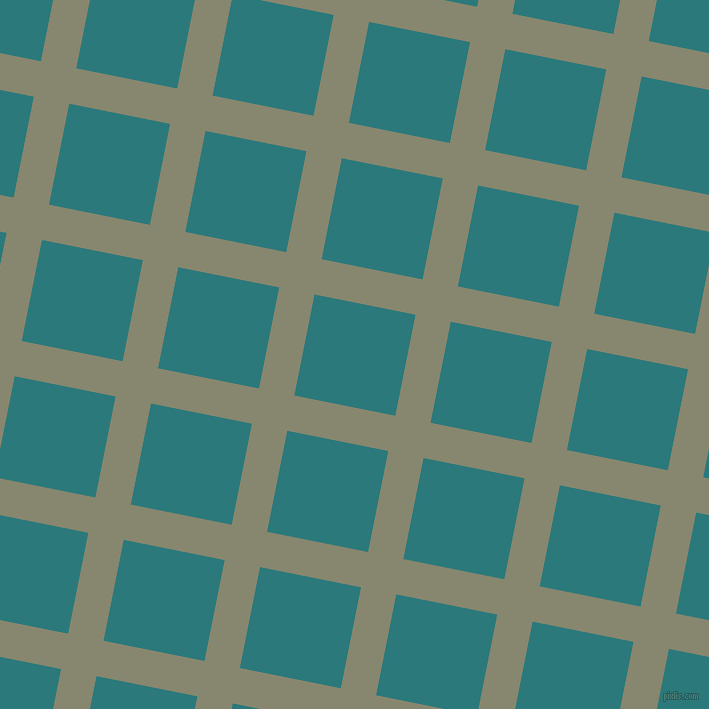 79/169 degree angle diagonal checkered chequered lines, 36 pixel line width, 103 pixel square size, Schist and Atoll plaid checkered seamless tileable