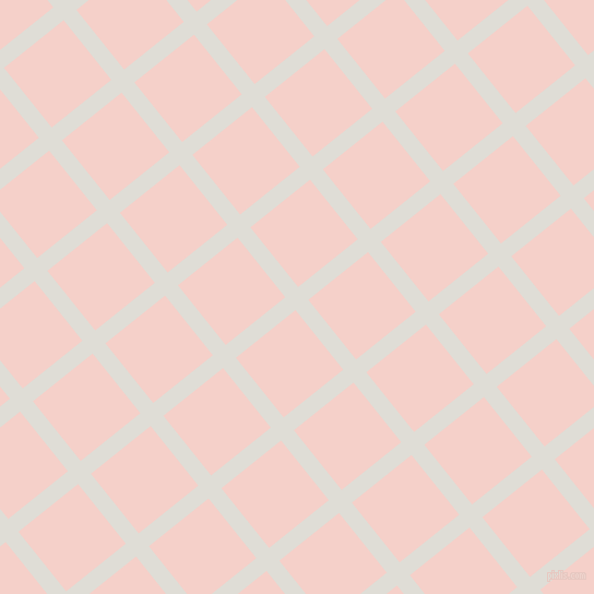 39/129 degree angle diagonal checkered chequered lines, 15 pixel line width, 70 pixel square size, Sea Fog and Coral Candy plaid checkered seamless tileable