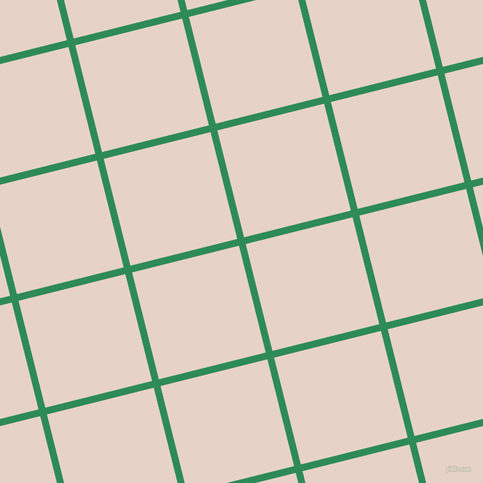 14/104 degree angle diagonal checkered chequered lines, 10 pixel line width, 158 pixel square size, Sea Green and Bizarre plaid checkered seamless tileable