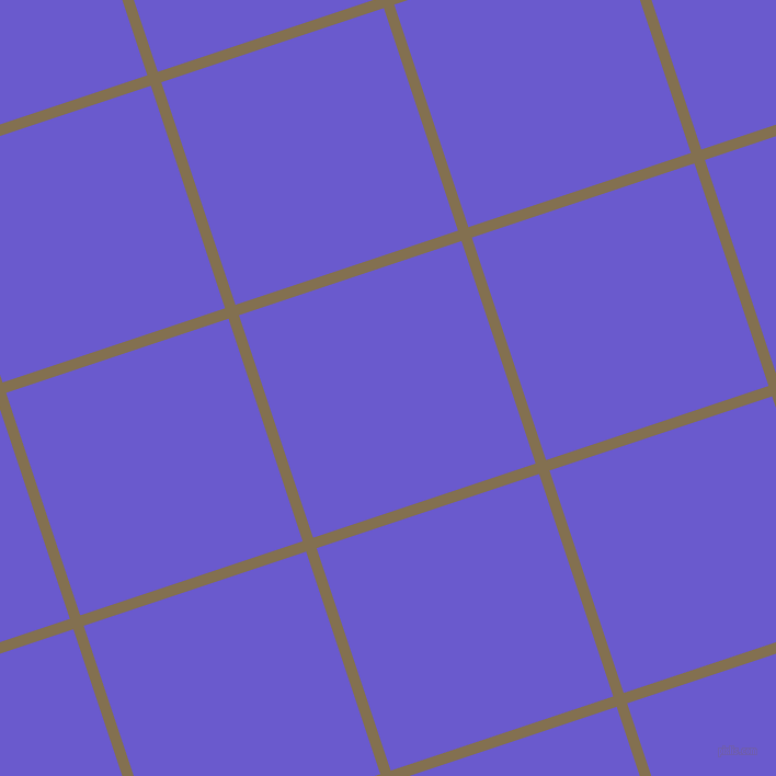 18/108 degree angle diagonal checkered chequered lines, 10 pixel line width, 214 pixel square size, Shadow and Slate Blue plaid checkered seamless tileable