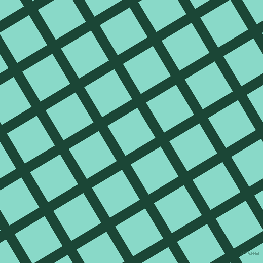 31/121 degree angle diagonal checkered chequered lines, 20 pixel lines width, 69 pixel square size, Sherwood Green and Riptide plaid checkered seamless tileable