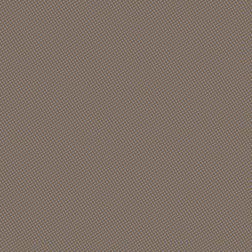 32/122 degree angle diagonal checkered chequered lines, 3 pixel line width, 6 pixel square size, Shingle Fawn and Manatee plaid checkered seamless tileable
