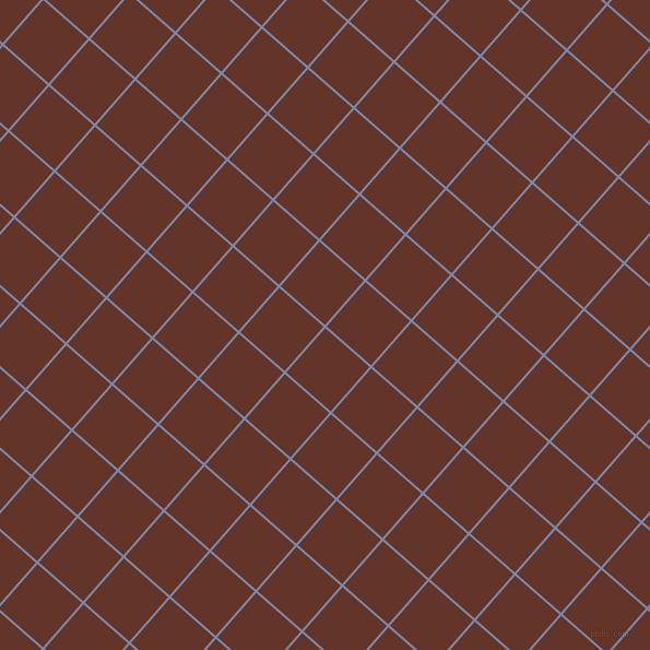 49/139 degree angle diagonal checkered chequered lines, 2 pixel lines width, 54 pixel square size, Ship Cove and Hairy Heath plaid checkered seamless tileable