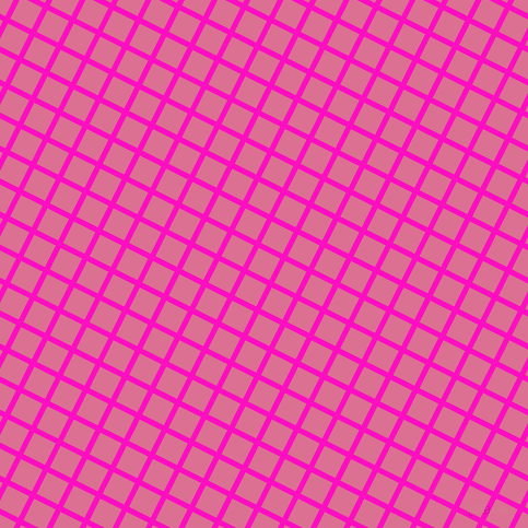 63/153 degree angle diagonal checkered chequered lines, 5 pixel line width, 22 pixel square size, Shocking Pink and Pale Violet Red plaid checkered seamless tileable
