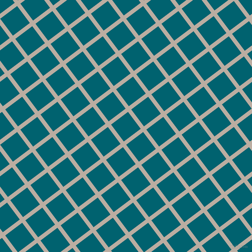 37/127 degree angle diagonal checkered chequered lines, 8 pixel line width, 43 pixel square size, Silk and Blue Lagoon plaid checkered seamless tileable