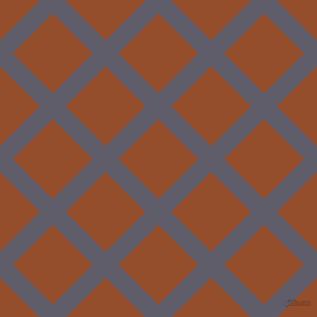 45/135 degree angle diagonal checkered chequered lines, 26 pixel lines width, 81 pixel square size, Smoky and Alert Tan plaid checkered seamless tileable