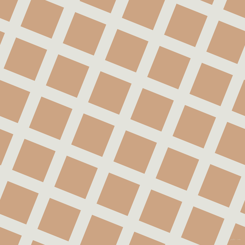 68/158 degree angle diagonal checkered chequered lines, 41 pixel lines width, 114 pixel square size, Snow Drift and Cameo plaid checkered seamless tileable