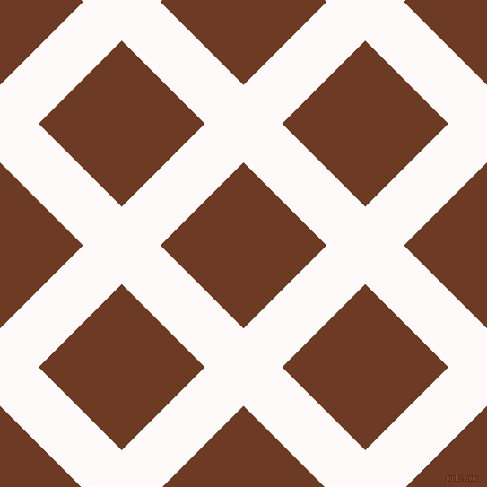 45/135 degree angle diagonal checkered chequered lines, 61 pixel line width, 131 pixel square size, Snow and New Amber plaid checkered seamless tileable