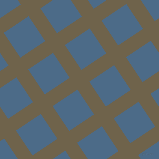 34/124 degree angle diagonal checkered chequered lines, 46 pixel lines width, 97 pixel square size, Soya Bean and Wedgewood plaid checkered seamless tileable