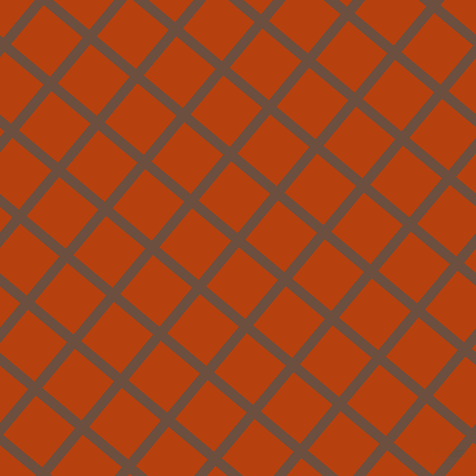 50/140 degree angle diagonal checkered chequered lines, 10 pixel lines width, 51 pixel square size, Spice and Rust plaid checkered seamless tileable