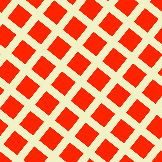 51/141 degree angle diagonal checkered chequered lines, 25 pixel lines width, 57 pixel square size, Spring Sun and Scarlet plaid checkered seamless tileable