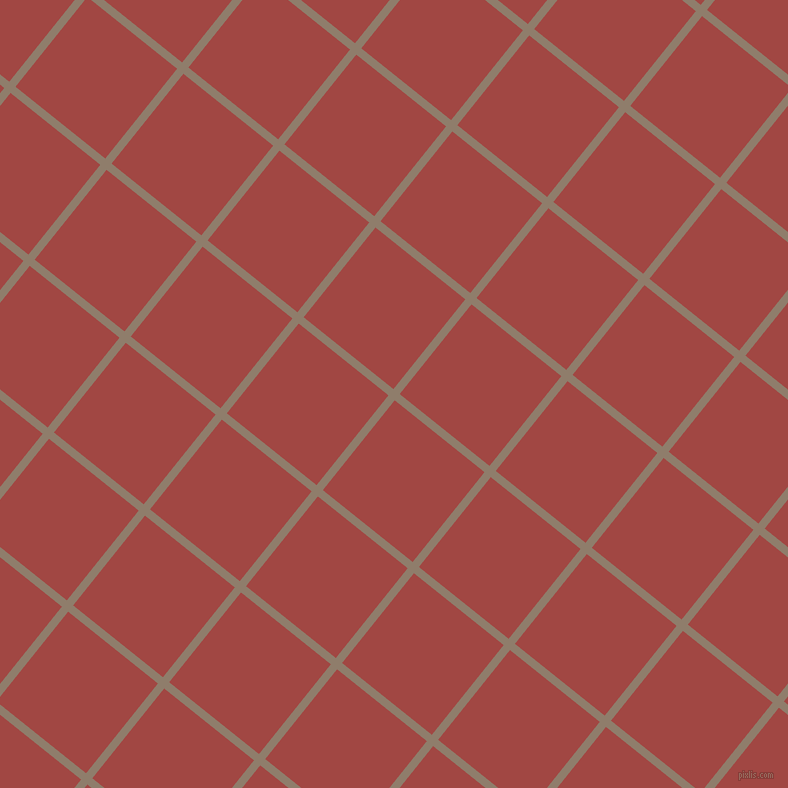 51/141 degree angle diagonal checkered chequered lines, 8 pixel lines width, 115 pixel square size, Squirrel and Roof Terracotta plaid checkered seamless tileable