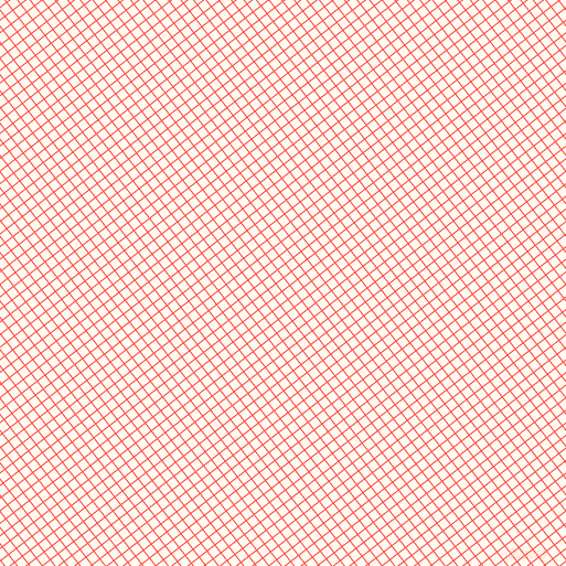 38/128 degree angle diagonal checkered chequered lines, 1 pixel line width, 8 pixel square size, Sunset Orange and Floral White plaid checkered seamless tileable