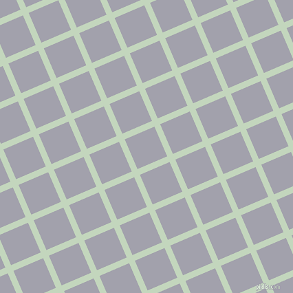 23/113 degree angle diagonal checkered chequered lines, 9 pixel line width, 47 pixel square size, Surf Crest and Spun Pearl plaid checkered seamless tileable