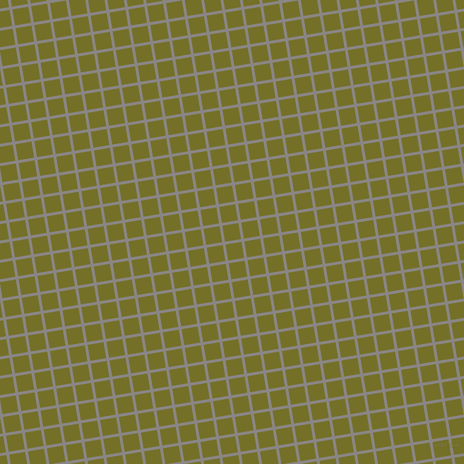 9/99 degree angle diagonal checkered chequered lines, 4 pixel lines width, 23 pixel square size, Suva Grey and Olivetone plaid checkered seamless tileable