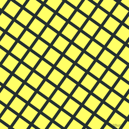 54/144 degree angle diagonal checkered chequered lines, 10 pixel line width, 40 pixel square size, Swamp and Laser Lemon plaid checkered seamless tileable