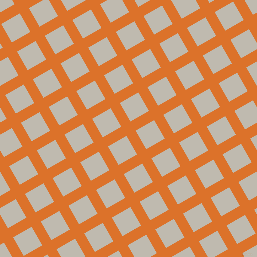 30/120 degree angle diagonal checkered chequered lines, 35 pixel lines width, 71 pixel square size, Tahiti Gold and Cotton Seed plaid checkered seamless tileable