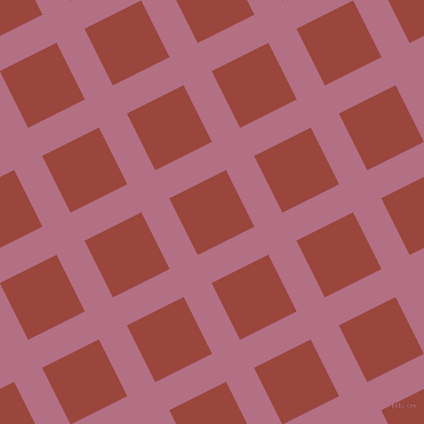 27/117 degree angle diagonal checkered chequered lines, 44 pixel line width, 89 pixel square size, Tapestry and Cognac plaid checkered seamless tileable