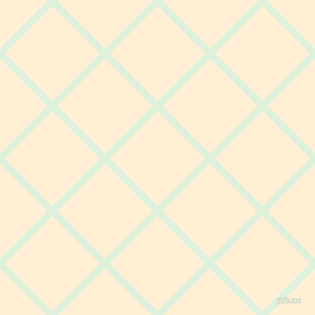 45/135 degree angle diagonal checkered chequered lines, 10 pixel line width, 98 pixel square size, Tara and Papaya Whip plaid checkered seamless tileable