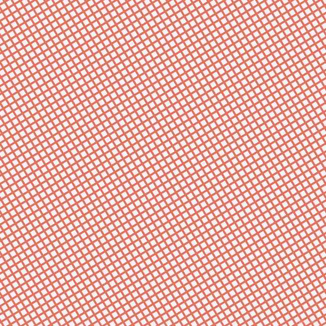 31/121 degree angle diagonal checkered chequered lines, 4 pixel lines width, 10 pixel square size, Terra Cotta and Lavender Blush plaid checkered seamless tileable