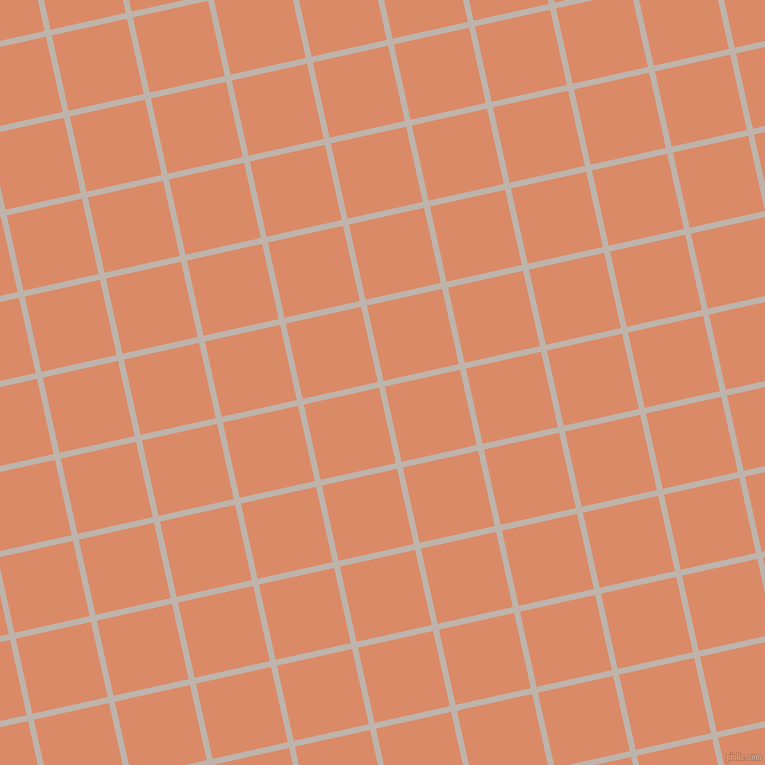 13/103 degree angle diagonal checkered chequered lines, 6 pixel line width, 77 pixel square size, Tide and Copper plaid checkered seamless tileable