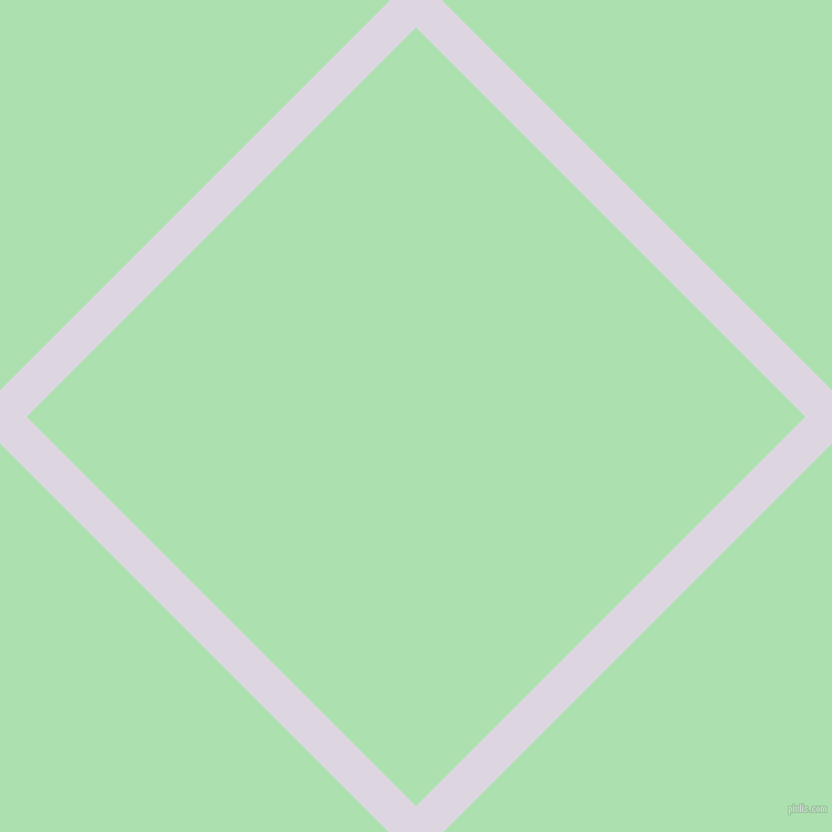 45/135 degree angle diagonal checkered chequered lines, 34 pixel lines width, 497 pixel square size, Titan White and Celadon plaid checkered seamless tileable