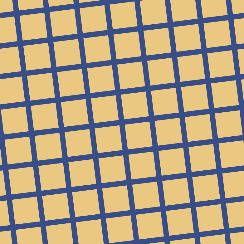 7/97 degree angle diagonal checkered chequered lines, 17 pixel lines width, 80 pixel square size, Tory Blue and Marzipan plaid checkered seamless tileable