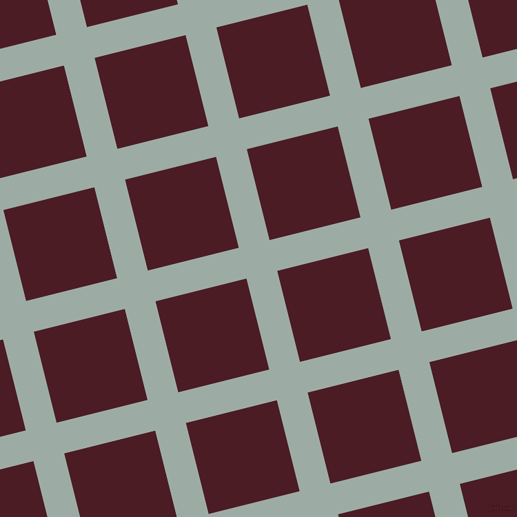 14/104 degree angle diagonal checkered chequered lines, 46 pixel lines width, 136 pixel square size, Tower Grey and Bordeaux plaid checkered seamless tileable