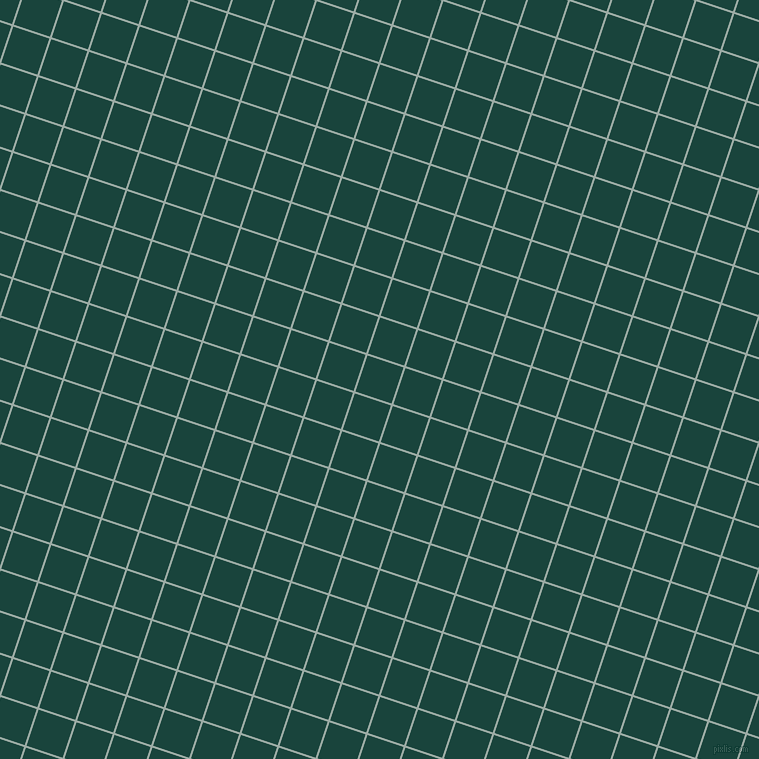 72/162 degree angle diagonal checkered chequered lines, 2 pixel lines width, 38 pixel square size, Tower Grey and Deep Teal plaid checkered seamless tileable