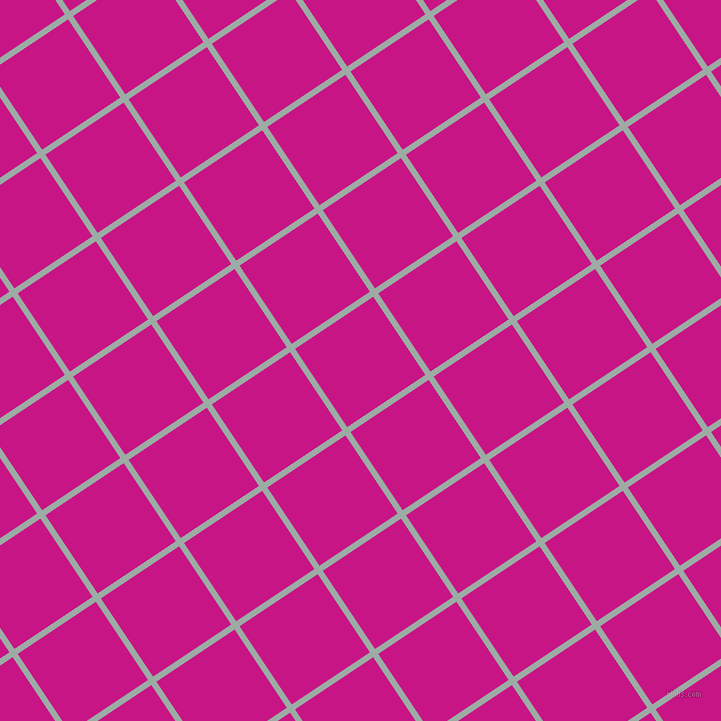 34/124 degree angle diagonal checkered chequered lines, 6 pixel lines width, 94 pixel square size, Tower Grey and Medium Violet Red plaid checkered seamless tileable
