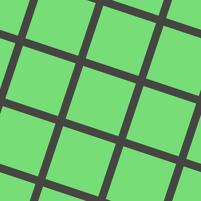 72/162 degree angle diagonal checkered chequered lines, 27 pixel lines width, 189 pixel square sizeTuatara and Pastel Green plaid checkered seamless tileable